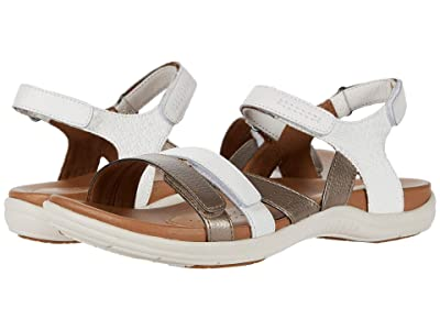 Cobb Hill Rubey Instep Strap (White) Women