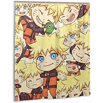 DressYourHome Inc Personalized Custom Shower Curtain,Japan Anime One Piece Shower Curtain,60 W X 72 L Inches