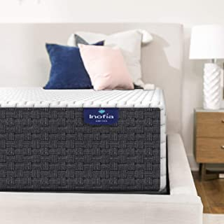 Queen Mattress, Inofia 8 Inch High Resilience Foam Queen Mattress in a Box, More Breathable & Supportive Than Memory Foam,...