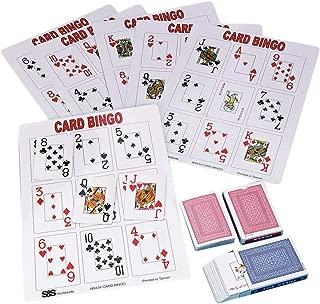 S&S Worldwide Playing Card Bingo Game