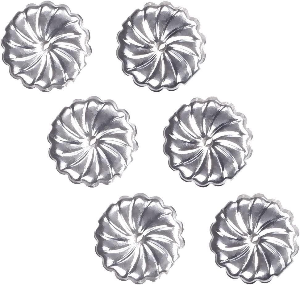 1. uGems Sterling Silver RH Swirl