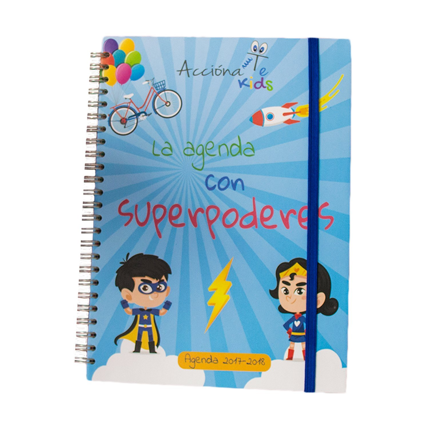 Agenda Escolar AcciónaTe Kids 2017-2018 semana vista: Amazon.es ...