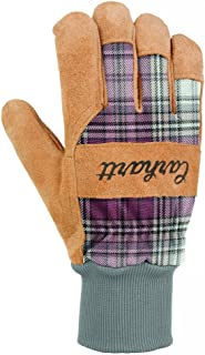 Carhartt Women's Insulated Suede Work Glove with Knit Cuff