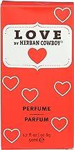 Herban Cowboy Women's Perfume, Love, 1.7 Ounce