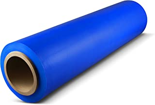 Blue Color Hand Bundling Stretch Wrap Plastic Film 18