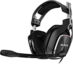 ASTRO Gaming A40 TR Wired Gaming Headset Gen 4 for Playstation, Xbox & PC - Black/Red
