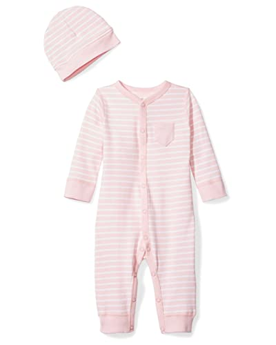 Girls' Clothing (0-24 Months) Honest Baby Girls Pink Button Up Knit Hooded Cardigan Up To 1 Month Superior Materials Jumpers & Cardigans