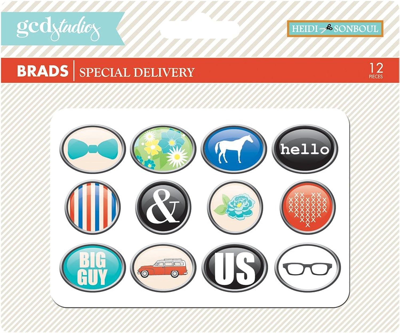 GGT (Studios Special Delivery by Heidi Heidi Heidi sonboul Brads für Papier, B00CQJZ5NK | Attraktive Mode  68c830