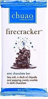 Chocolate Bars - Chuao Chocolatier Mini Chocolate Bars 100pk (.39 oz bars) - Best-Selling Chocolate Pack - Gourmet Artisan Chocolate - Free of Artificial Flavors (Firecracker)