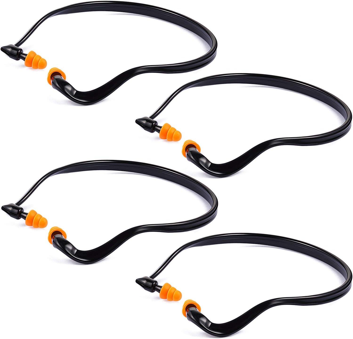 Band half Earplugs 2021 Hearing Bands Banded Lightweigh Ear Shooting Plugs