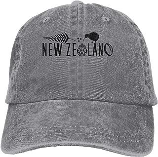 New Zealand Fern Rugby Chick Cowboy Caps Unisex Trucker Baseball Hat Gray