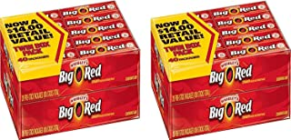 Wrigley's Big Red Cinnamon Gum 4/20 Pack Boxes 5 Pieces Per Pack Total 400 Pieces