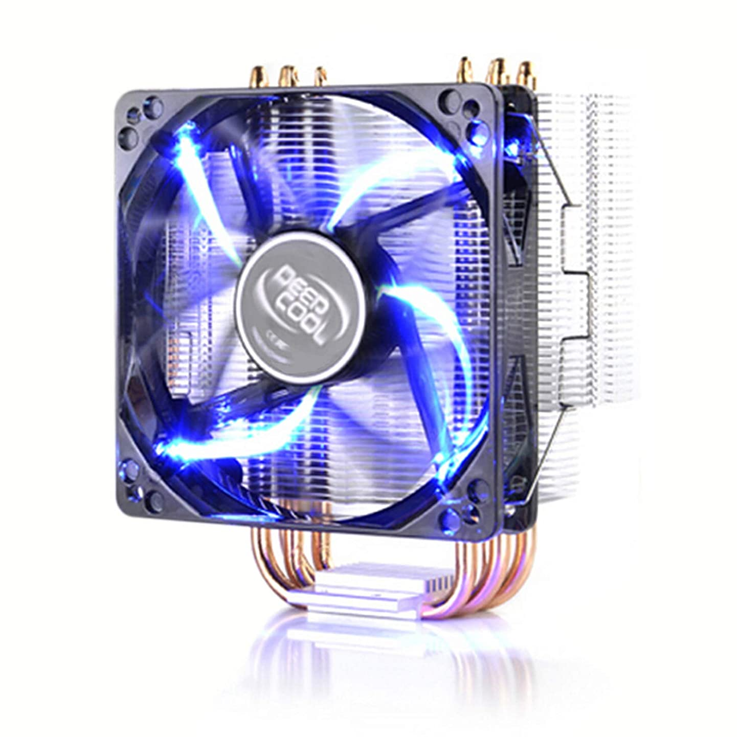 PC Computer CPU Aluminum Heatsink LED Fan Cooler CPU Air Cooler AMD 2/3 & Intel LGA 1156/775/1150/1155 Core i7/i5/i3