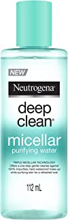 Neutrogena Deep Clean Micellar Purifying Water, Transparent, 112 ml