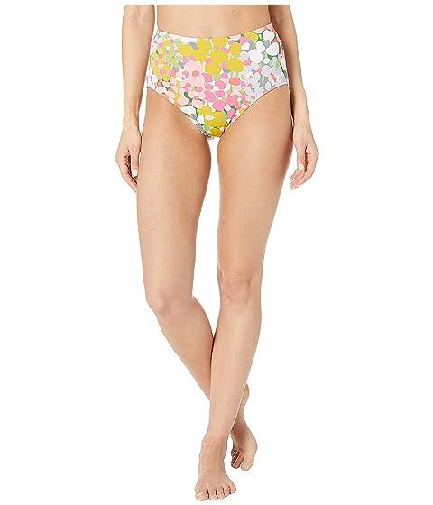 Kate Spade New York High-Waist Bikini Bottoms