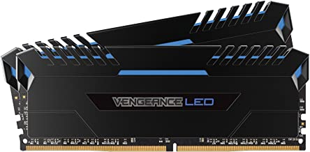 CORSAIR VENGEANCE LED 16GB (2x8GB) DDR4 3000MHz C15 Desktop Memory  - Blue LED