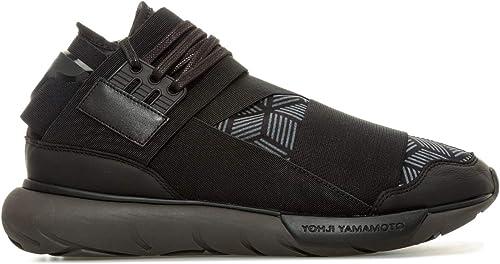 Hauszapatos Altas para Hombre Y-3 Qasa en negro - Yohji Yamañoto Collañoration