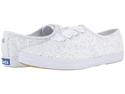 Keds x kate spade new york Bridal Champion Glitter (White Glitter) Women