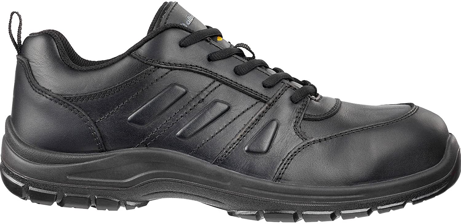 Albatros 646100-200-41 shoes  Business CSL , Size  7, black - EN safety certified