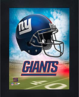 New York Giants 3D Poster Wall Art Decor Framed Print | 14.5x18.5 | Lenticular Posters & Pictures | Memorabilia Gifts for Guys & Girls Bedroom | NFL Football Team Sports Fan Pictures for Man Cave