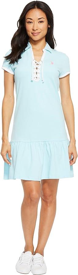 Birdeye Pique Polo Dress