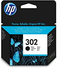 HP 302 Cartouche d'Encre Noire Authentique (F6U66AE)