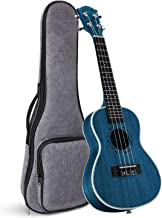 Tenor Ukulele Ranch 26 inch Professional Wooden ukelele Instrument with Free Online 12 Lessons and Gig Bag - Small Hawaiian Guitar - Starry Blue