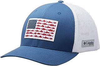 Peg Mesh Fish Flag Ball Cap