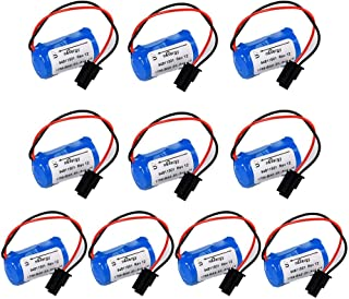 PLC Battery Replacement for Allen Bradley 1756-BA2 BR2/3A-AB 1745-B1 3.0V 1200mAh - Pack of 10