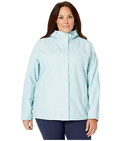 The North Face Venture 2 Jacket Plus Size (Windmill Blue Heather) Women