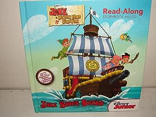 Disney Jake Saves Bucky Neverland Pirates Read Along Storybook and CD New