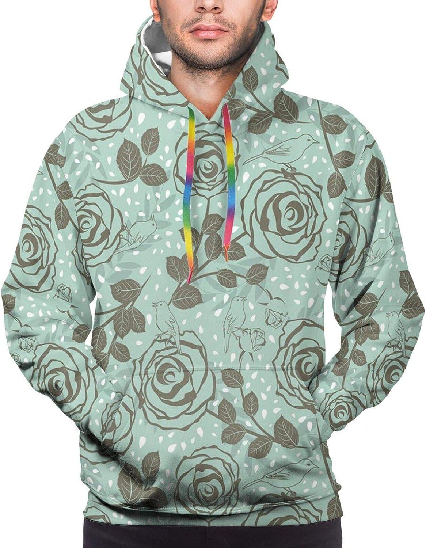 Men's Hoodies Sweatshirts,Romantic Saying with Lips Hearts Kisses XOXO Celebration Theme