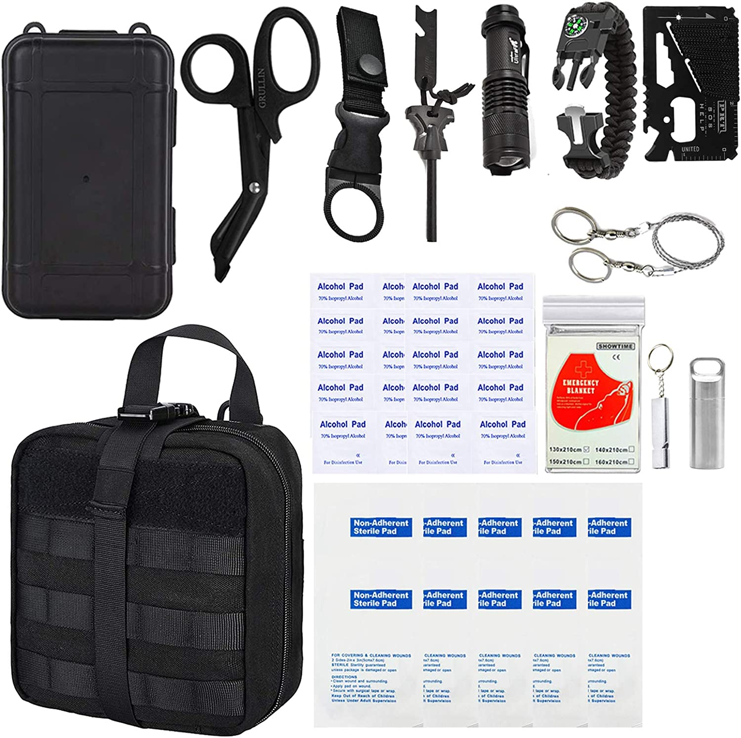 Purchase GRULLIN Outdoor Survival Kit 43 in Multi-Purpose Aid 1 Em First Colorado Springs Mall