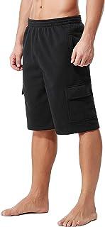 KingPlusSports Men's Big and Tall Cotton Cargo Shorts
