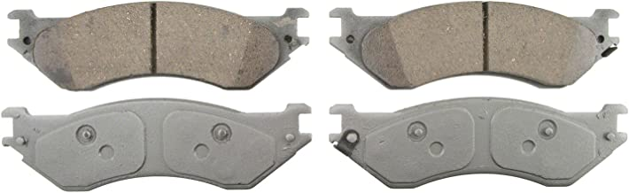 Wagner ThermoQuiet QC702A Ceramic Disc Pad Set With Installation Hardware, Rear