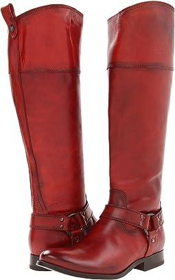 Burnt Red Soft Vintage Leather