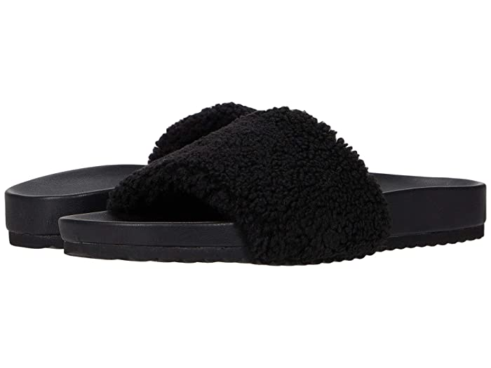FARYL by Farylrobin Montrose (Black Faux Fur) Women's Shoes