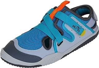 skoodo Kids Casual Sports Shoes (Boys and Girls 6-14 Years) - Ziggie Zag - Neptune Blue | Grey