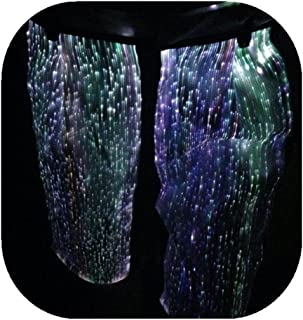 Fiber Optic Festival Shorts LED RGB Light up Hip-Hop Pants Glow in The Dark Pants for Party Club