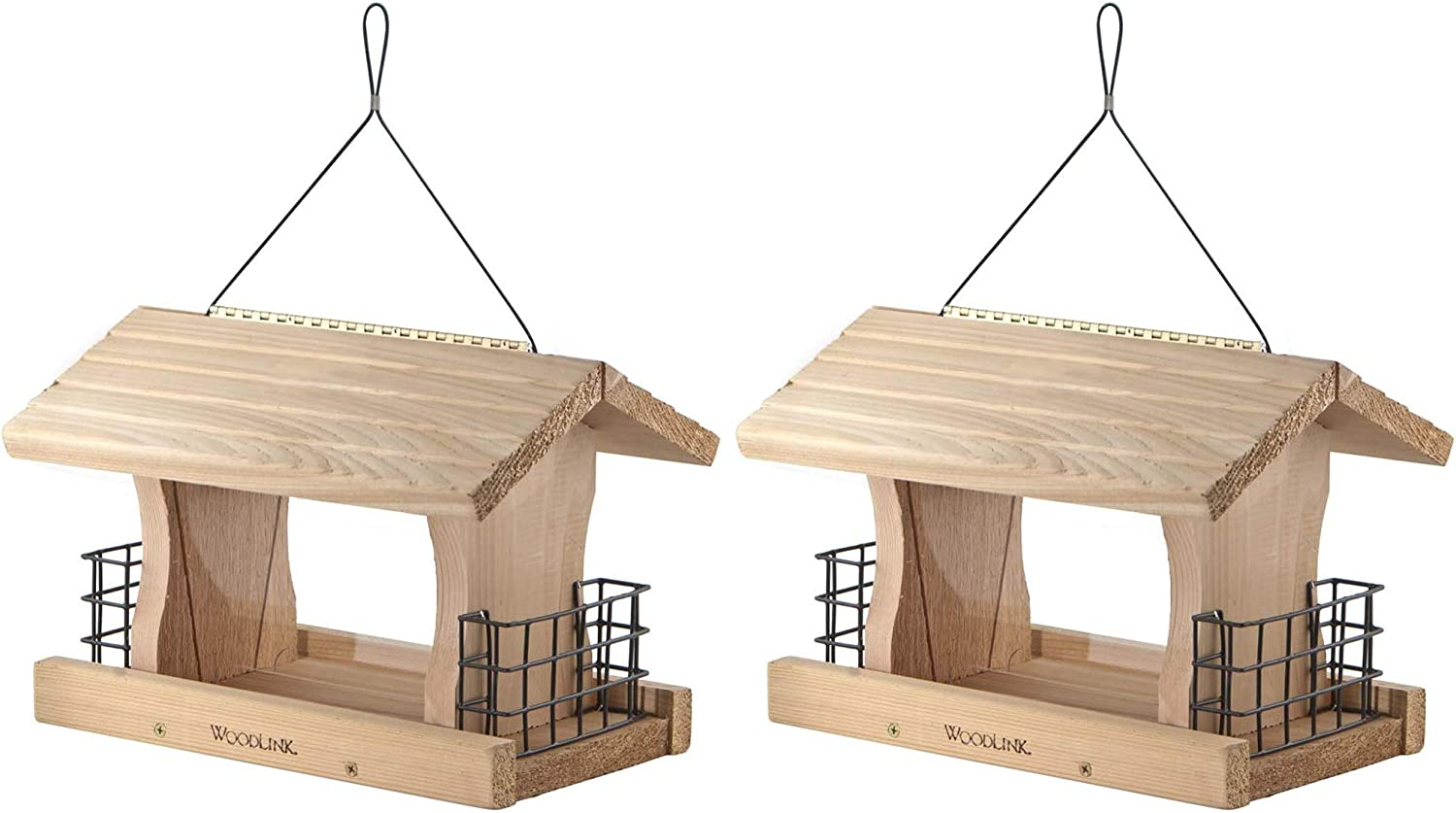 Woodlink Deluxe Cedar Wood Hanging Feeder Super-cheap with Bird Suet Cable Max 51% OFF