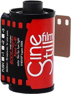 CineStill Film 800135 800 Tungsten High Speed (ISO 800) Color Film, 36 Exposures 135 DX Coded