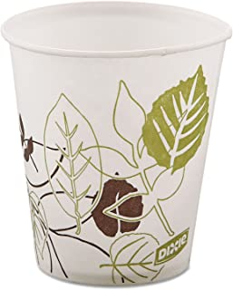 Dixie 58PATHPK Pathways Wax Treated Paper Cold Cups, 5oz, 100/Pack