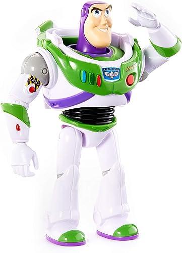 Disney Pixar Toy Story 4 Figurine parlante Buzz L'Éclair en Ranger de l'espace, phrases et sons, version française, j...