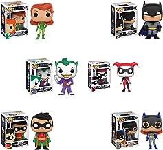 Pop! Heroes: Batman the Animated Series Batman and Robin, Batgirl, The Joker, Harley Quinn, and Poison Ivy! Set of 6