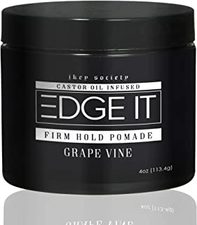 Firm Hold Pomade | Extra Strong Edge Control , 4oz by EDGE IT - 24 Hour Edge Tamer
