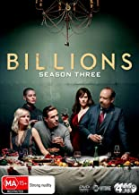 Billions Season 3 | Damian Lewis, Paul Giamatti | NON-USA Format | Region 4 Import - Australia