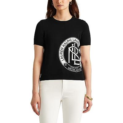 LAUREN Ralph Lauren Logo Short Sleeve Sweater