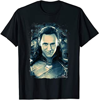 Marvel Thor Ragnarok Loki Distressed Portrait T-Shirt
