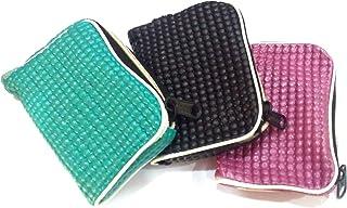 My.Shop Women's Soft PVC Coin Purse Wallet Zipper Pouch Travel Accessory