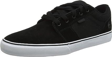 Etnies Men's Barge LS Skate Shoe, White/Black